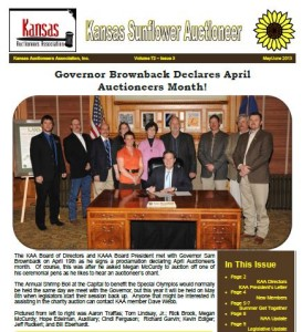 May/June Issue of Kansas Sunflower Auctioneer