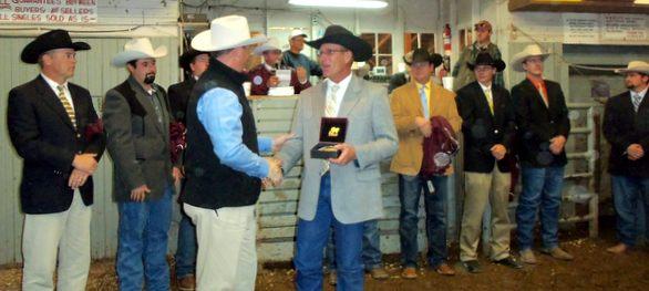 Justin Banzhaf wins 2014 livestock contest
